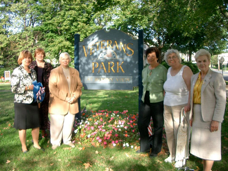 The Ramsey Woman's Club was instrumental in establishing Veteran's Park.