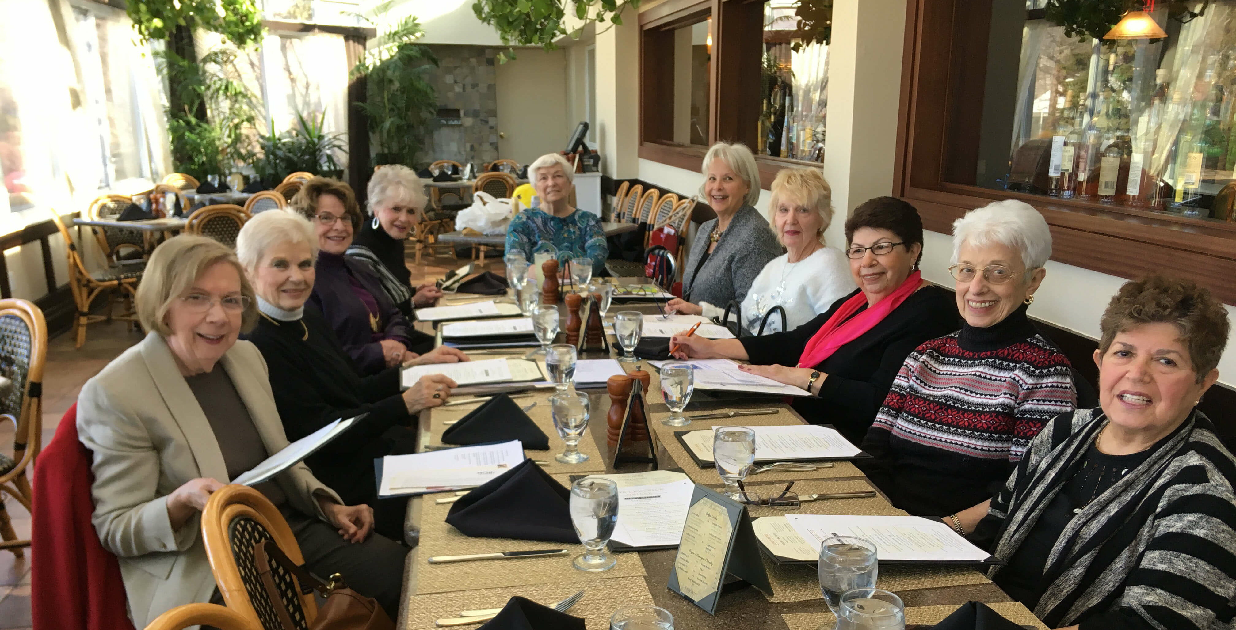 Woman's Club members kicked off their 2018 schedule with a January luncheon at the Ramsey Golf & Country Club. Enjoying the gathering are, from left, Dolores de Vinck, Marjorie Detweiler, Dorothy Verdone, Katie Parker, Helen Mekita, Kathy Ambrose, Pat Bernius, Tina Pellicciari, JoAnne Bockhorn and Julliet Borgersen.